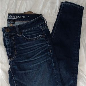 american eagle skinny jeans, jegging, size 4